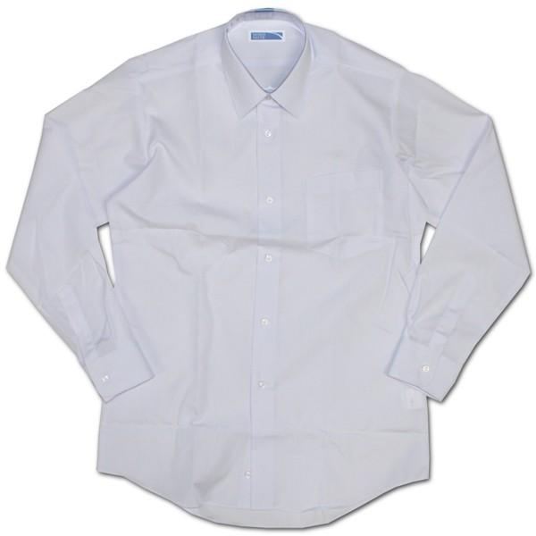 MINDNOTE形態安定長袖スクールシャツ