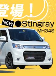 スティングレーMH34S