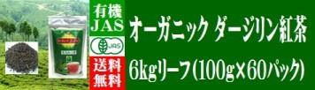 紅茶 オーガニック ダージリン 6kg リーフ