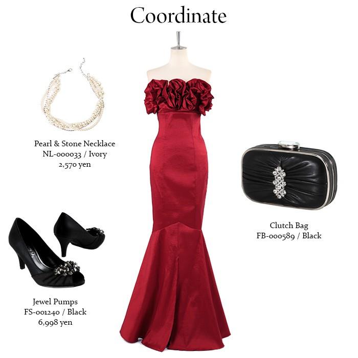 上品なドレス