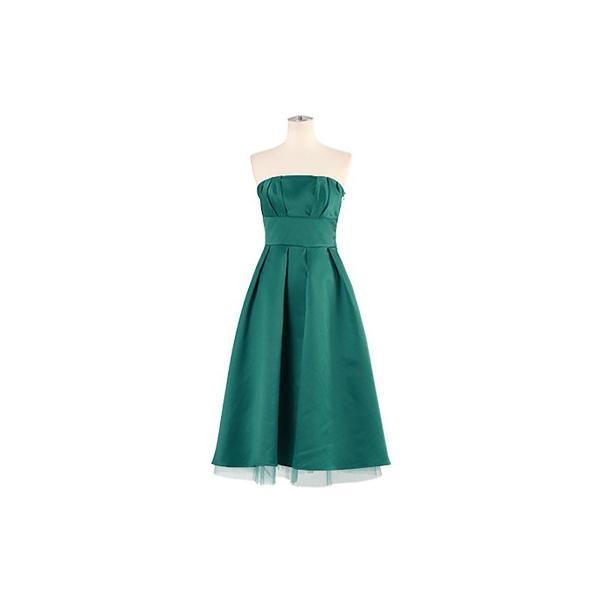 ドレス 結婚式 お呼ばれ ワンピース ミモレ丈 ベアトップ パーティ ブライズメイド ウェディング 同窓会 二次会 大きいサイズ 演奏会 20代 30代 40代 FD-250078|rs-gown|24