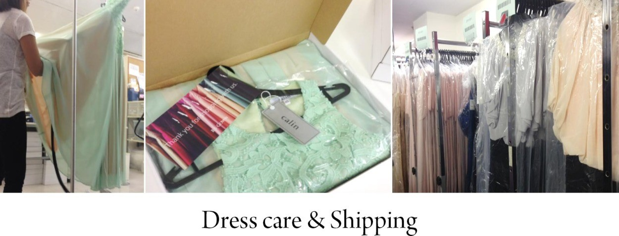 Dress care & Shipping