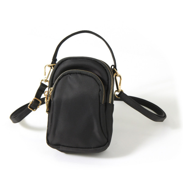ポーチ レディース ミセス シニア 3ポケット バッグ かばん カバン サブバッグ ポシェット ミニポーチ ショルダーバッグ ハンドバッグ|ruckruck|15