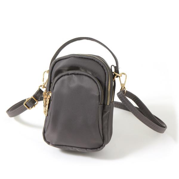ポーチ レディース ミセス シニア 3ポケット バッグ かばん カバン サブバッグ ポシェット ミニポーチ ショルダーバッグ ハンドバッグ|ruckruck|16