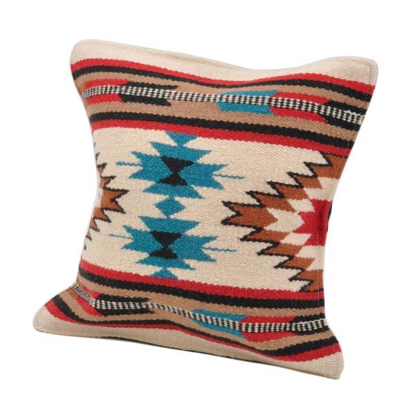 エルパソサドルブランケット (El Paso SADDLEBLANKET) Wool Maya Modern/ウールラグ素材クッションカバー[約46×46cm]|rugforest|22