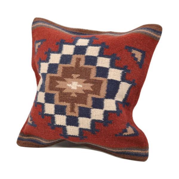 エルパソサドルブランケット (El Paso SADDLEBLANKET) Wool Maya Modern/ウールラグ素材クッションカバー[約46×46cm]|rugforest|25