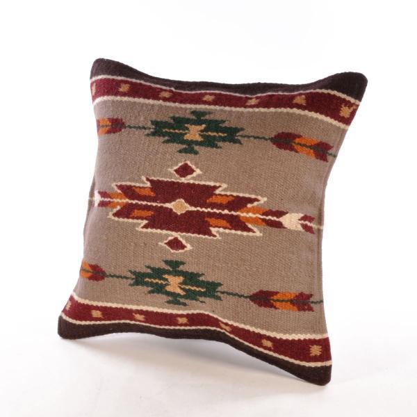 エルパソサドルブランケット (El Paso SADDLEBLANKET) Wool Maya Modern/ウールラグ素材クッションカバー[約46×46cm]|rugforest|13