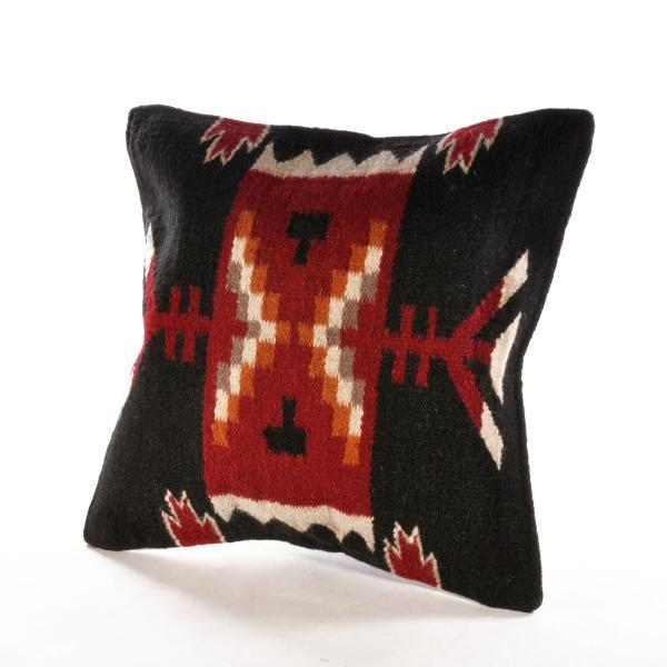 エルパソサドルブランケット (El Paso SADDLEBLANKET) Wool Maya Modern/ウールラグ素材クッションカバー[約46×46cm]|rugforest|15