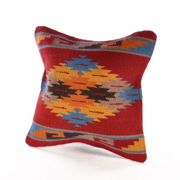 エルパソサドルブランケット (El Paso SADDLEBLANKET) Wool Maya Modern/ウールラグ素材クッションカバー[約46×46cm]|rugforest|21