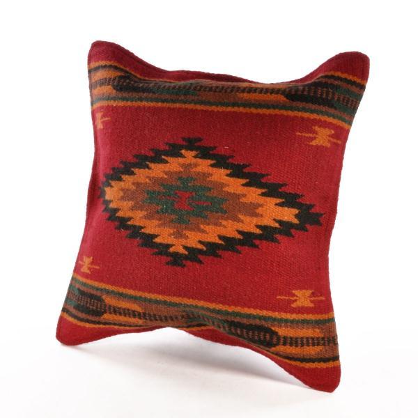 エルパソサドルブランケット (El Paso SADDLEBLANKET) Wool Maya Modern/ウールラグ素材クッションカバー[約46×46cm]|rugforest|19
