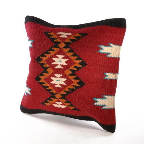 エルパソサドルブランケット (El Paso SADDLEBLANKET) Wool Maya Modern/ウールラグ素材クッションカバー[約46×46cm]|rugforest|20