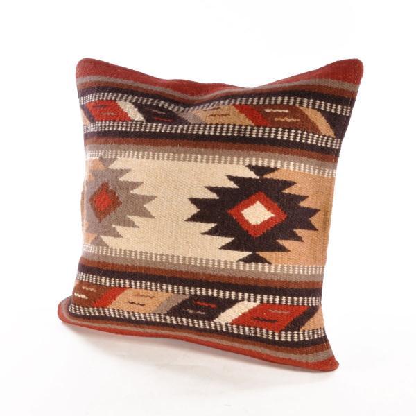 エルパソサドルブランケット (El Paso SADDLEBLANKET) Wool Maya Modern/ウールラグ素材クッションカバー[約46×46cm]|rugforest|12