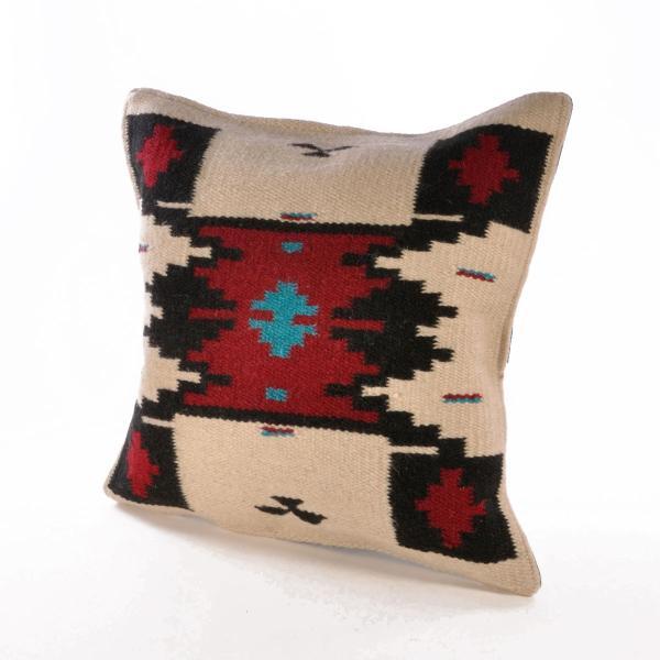 エルパソサドルブランケット (El Paso SADDLEBLANKET) Wool Maya Modern/ウールラグ素材クッションカバー[約46×46cm]|rugforest|10