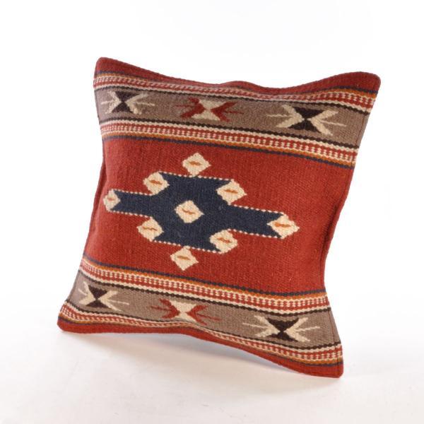 エルパソサドルブランケット (El Paso SADDLEBLANKET) Wool Maya Modern/ウールラグ素材クッションカバー[約46×46cm]|rugforest|16