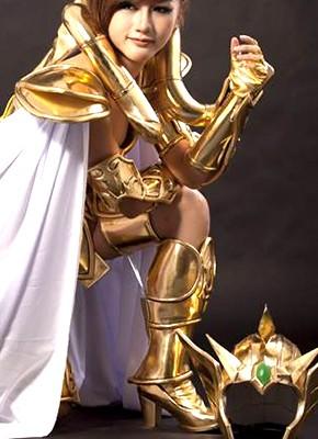 聖闘士星矢ゴールドクロスコスプレ衣装