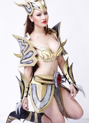 女剣士コスプレ衣装