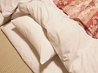 ホテル 旅館 業務用 枕カバー 使用風景