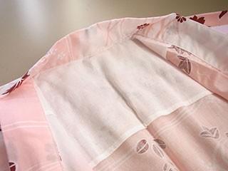 日本製 晒し生地 浴衣肩あて