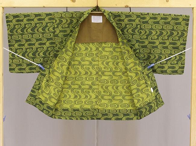 日本製 業務用 茶羽織半天 内側