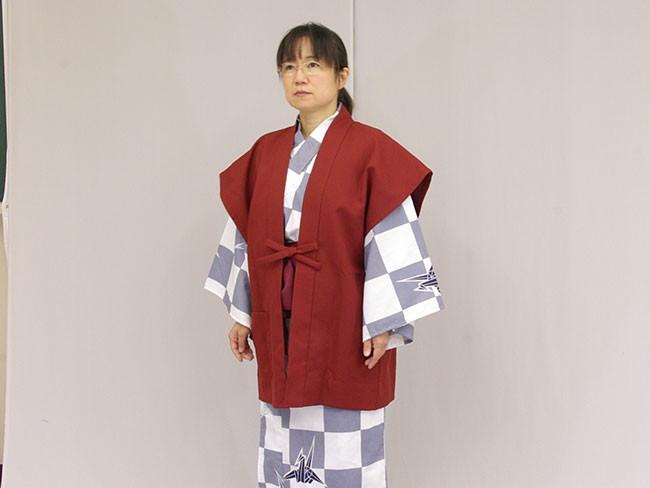 日本製 旅館浴衣 業務用 着た感じ