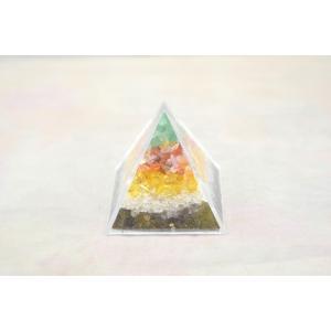天然石チップ さざれ石 ピラミッド型ケース 5cm 選べる四種類|ryu|06