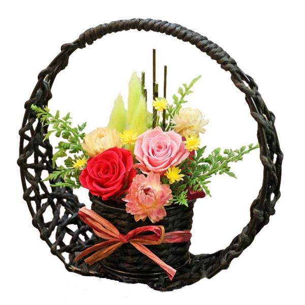 プリザーブドフラワー 送別 退職祝い プレゼント ギフト 和風 贈り物 送別 退職祝い 送別 誕生日 結婚祝い 記念日 お礼 還暦 お祝い 花 思い出のあとさき|s-arrange|18