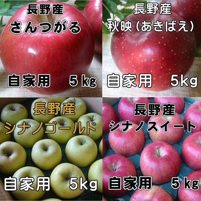 りんご4種