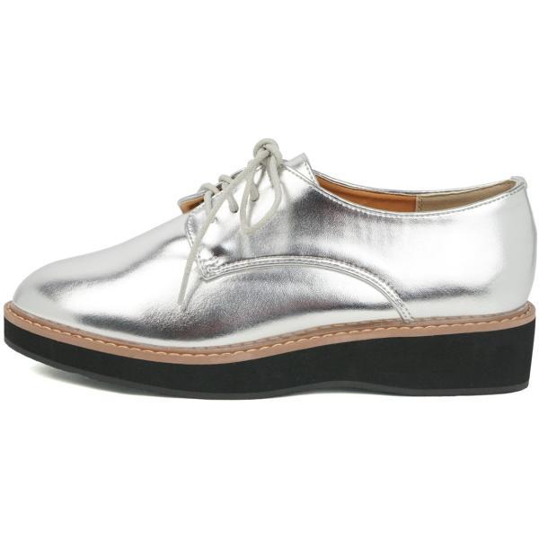 ローファー 厚底 大人 レースアップ オックスフォードシューズ おじ靴 学生 女子 歩きやすい おしゃれ トレンド クラシカル 靴 5166