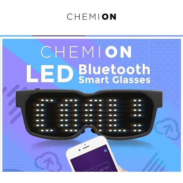 Chemion,ケミオン,LED,スマートグラス,Smart,Glasses,Bluetooth,グラス,ウェアラブルデバイス,スマホ連動LEDサングラス