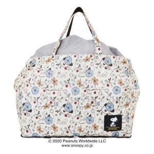 ピーナッツ トートバッグ エコバッグ 保冷 保温 レディース メンズ ECO0415 PEANUTS | 折りたたみ パッカブル レジカゴ対応|サックスバーPayPayモール店