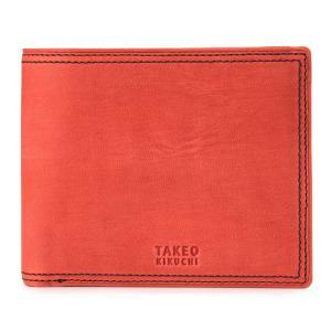 タケオキクチ 財布 二つ折り ティンバー TAKEO KIKUCHI 本革 レザー [PO5] サックスバーPayPayモール店