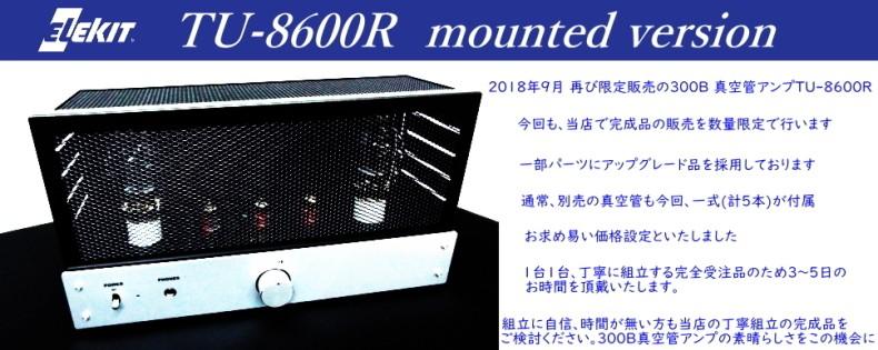 EK-japan TU-8600R完成品
