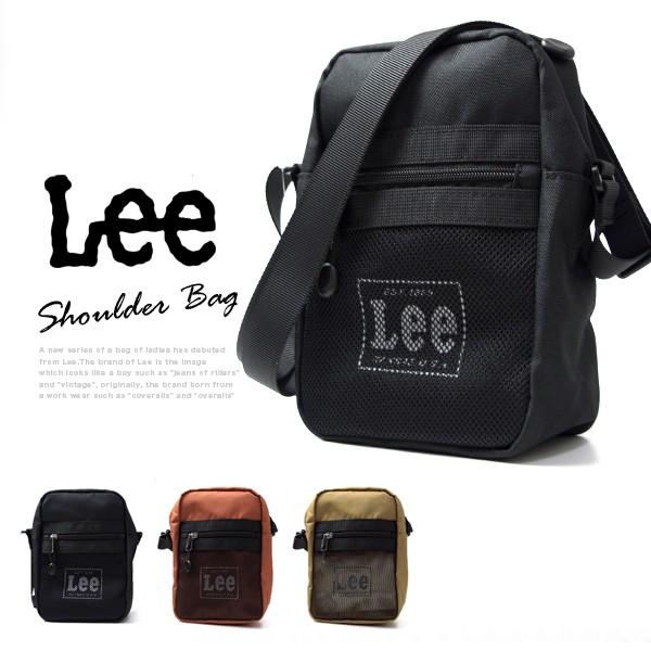 Lee -リー- ショルダーバッグ サコッシュ 縦型 マルチトラベルバッグ