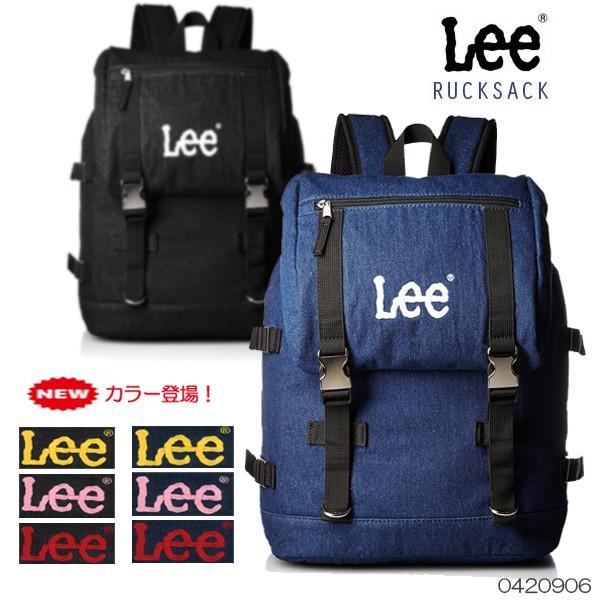 Lee -リー- リュック デニム メタルバックル デイバッグ