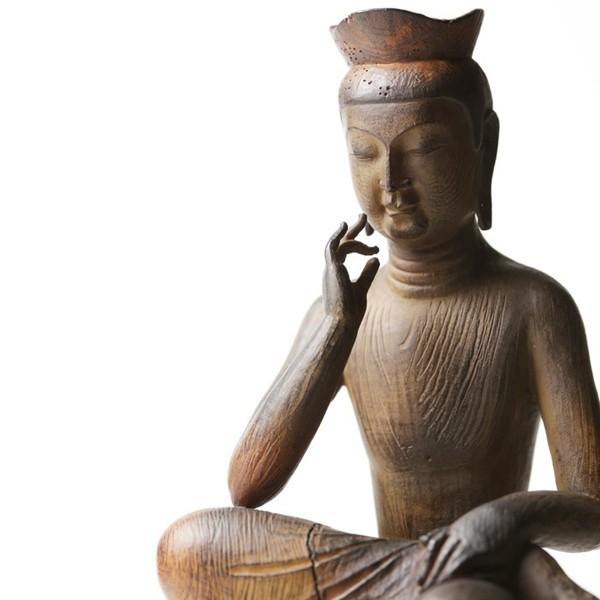 仏像 弥勒菩薩 イSム TanaCOCORO 掌 イン