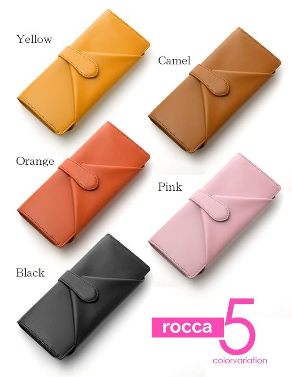 長財布 レディース rocca 牛革 大容量 大きな小銭入れ 長財布 イメージ写真05