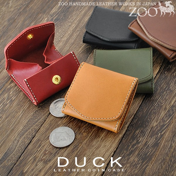 ZOO 栃木レザー コインケース DUCK