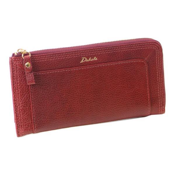 (ネコポス対応)Dakota ダコタ 財布レディース長財布 使いやすい 50代 l字ファスナー 40代 20代 ブランド 本革 イタリアンレザー ホワイトデー 母の日