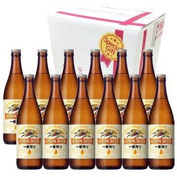 キリンビール 一番搾り 中瓶 ビール12本セット