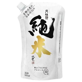 月桂冠 純米酒 パウチ 900ml×6パック入り