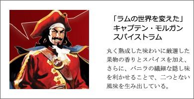 ラム キャプテン・モルガン スパイストラム