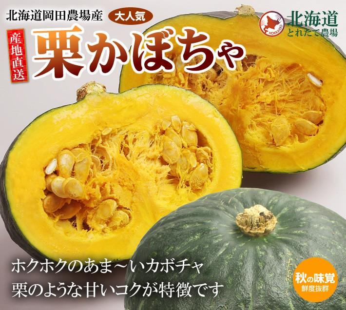 栗かぼちゃ 北海道岡田農場産