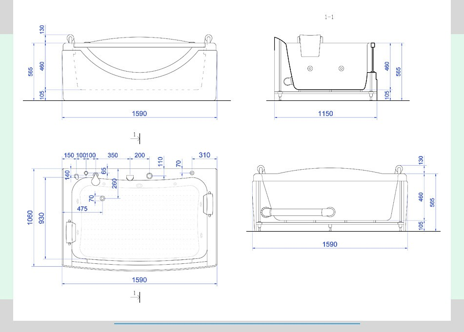 配管、サイズ、標準装備