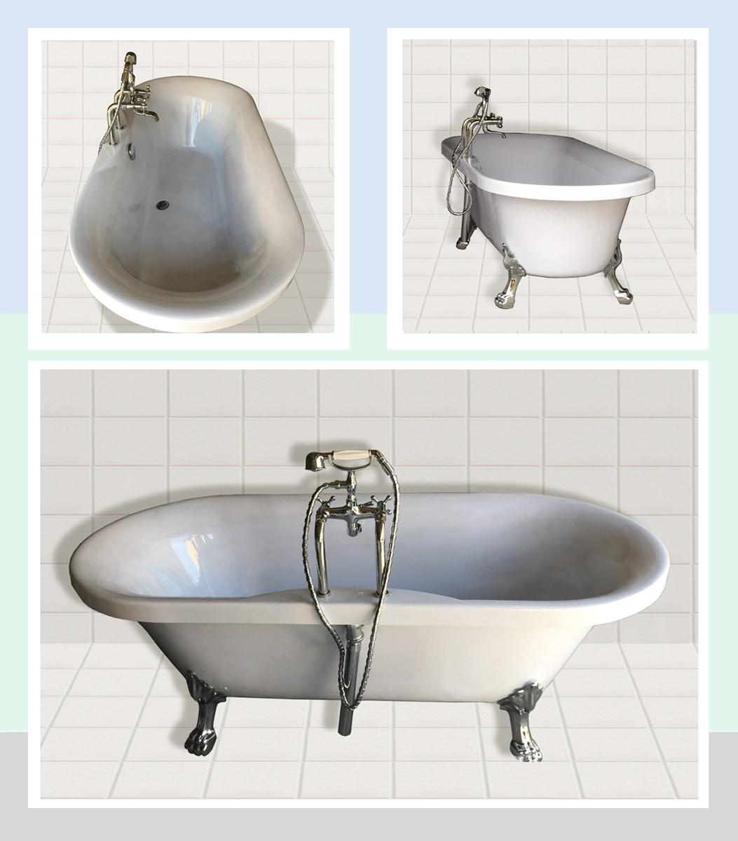浴槽、バスタブ、バスタブ一般、お風呂、浴室設備、家庭用品