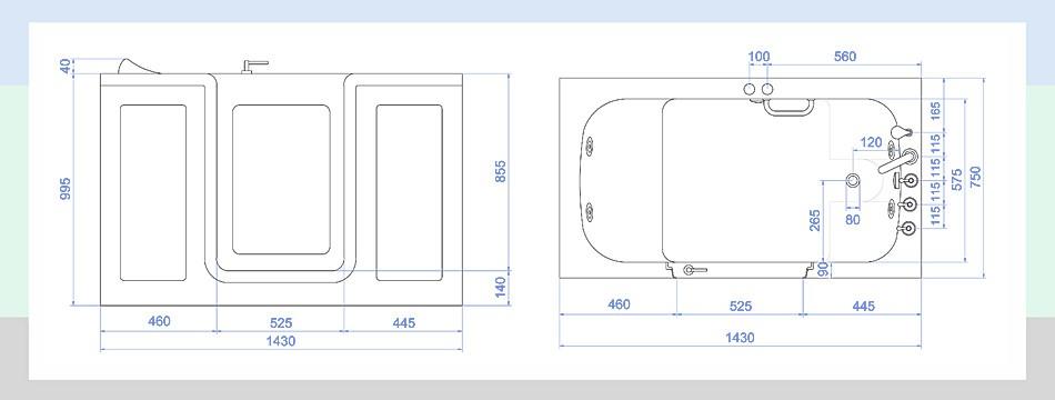 図面、図、組立、サイズ、寸法、測定する、大きい、小さい、パイプ、配管図面、詳細資料
