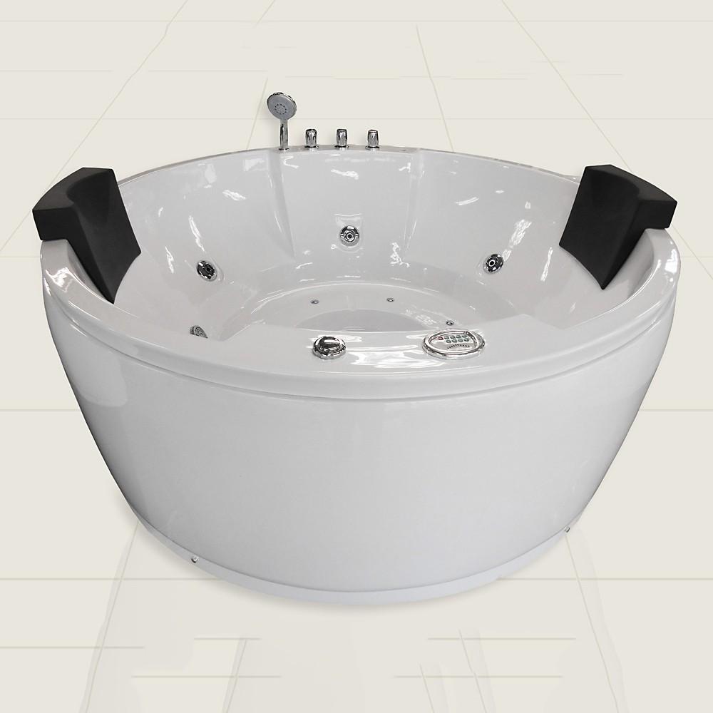 丸いジャグジー、円形ジャグジー、ジェットバス、お風呂、ジェットお風呂、手足を伸ばしてくつろぐ、入浴、ヒーター機能、ジェット浴槽