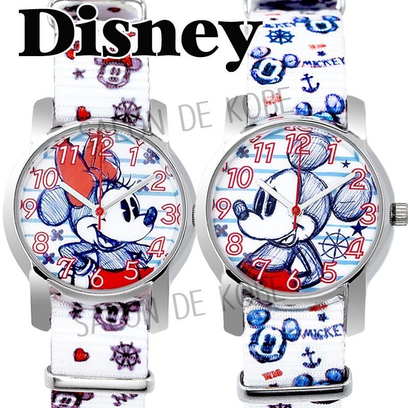 ディズニー 腕時計 NATO ベルト ツムツム TUMUTUMU ミッキー プーさん トイストーリー バズ ミニー ステンレス 裏蓋 ベルト キッズ 大人ディズニー シリアルナンバー入り 時計 Disney WATCH