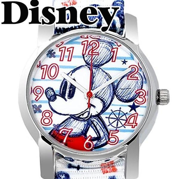 ディズニー 腕時計 NATO ベルト ミッキー ミニー ステンレス 裏蓋 ベルト キッズ 大人ディズニー 時計 disney_y|salon-de-kobe|08