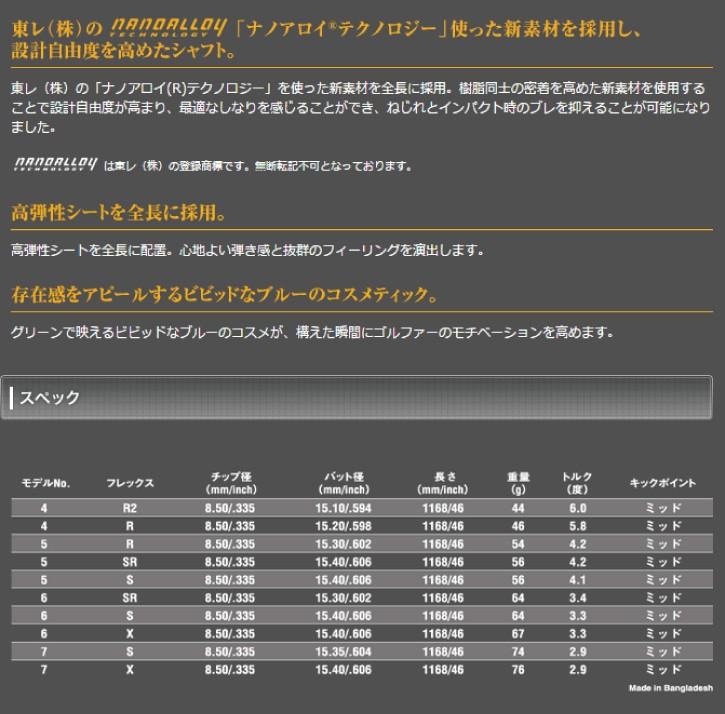 UST マミヤ ATTAS 6☆ (アッタス ロックスター)