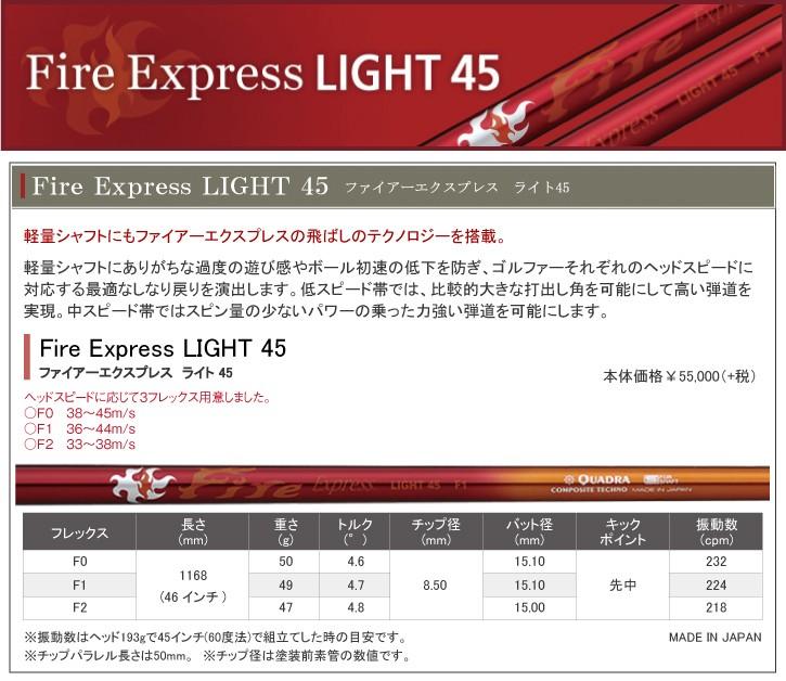 コンポジットテクノ Fire Express LIGHT (ファイアーエクスプレス ライト)